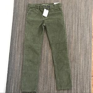NWT gap kids corduroy stretch jeans sz 14 Reg
